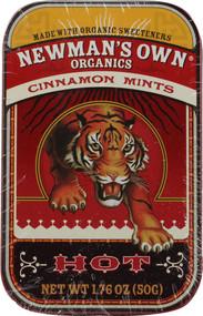 3 PACK of Newmans Own Organics Mints Cinnamon -- 1.76 oz