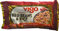 3 PACK of Vigo Red Beans & Rice -- 8 oz