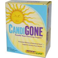 Renew Life, Targeted, Candi Smart, Yeast Cleansing Formula, 15 Day Program, 2 Part Program