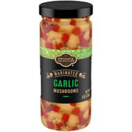 3 PACK OF Private Selection Marinated Garlic Mushrooms -- 8 oz