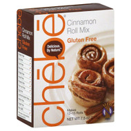 3 PACK OF Chebe Cinnamon Roll Mix Gluten Free -- 7.5 oz