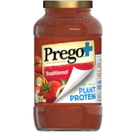3 PACK OF Prego Plant Protein Italian Tomato Sauce Traditional -- 24 oz