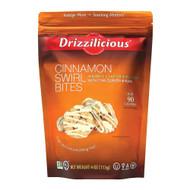 3 PACK OF Drizzilicious Mini Rice Crisp Cinnamon Swirl -- 4 oz