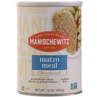 3 PACK OF Manischewitz Matzo Meal Traditional Unsalted -- 16 oz