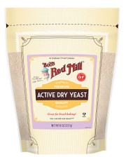 3 PACK OF Bobs Red Mill Active Dry Yeast Gluten Free -- 8 oz