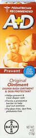3 PACK OF A + D Original Diaper Rash Ointment & Skin Protectant -- 4 oz