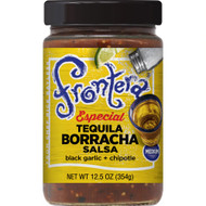3 PACK OF Frontera Tequila Salsa Black Garlic & Chipotle -- 12.5 oz
