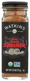 3 PACK OF Watkins Organic Ground Cinnamon -- 2.5 oz