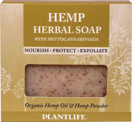 3 PACK OF Plantlife Hemp Herbal Soap with Phytocannabinoids -- 4.5 oz