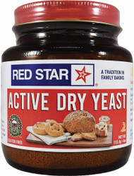 3 PACK OF Red Star Active Dry Yeast -- 4 oz