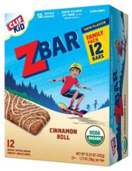 Clif Kid ZBar Cinnamon Roll -- 12 Bars