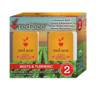 Red Ace Organic Beets & Turmeric Shot -- 2 Bottles