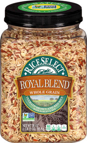 RiceSelectRice Select Royal Blend Whole Grain Texmati Brown and Red Rice -- 28 oz