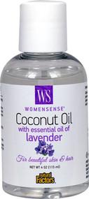 Natural Factors WomenSense Coconut Oil with Essential Oil of Lavender -- 4 fl oz