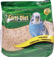 Kaytee Forti-Diet Nutritionally Fortified Food for Parakeet -- 5 lb