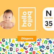 Hello Bello Diapers Newborn -- 35 Diapers