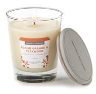 Candle Lite Blood Orange & Teakwood Wood Candle -- 9 oz