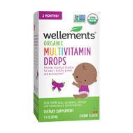 Wellements Organic Multivitamin Drops Cherry -- 1 fl oz