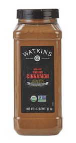 Watkins Organic Ground Cinnamon -- 14.7 oz