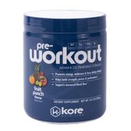 Kore Pre-Workout Fruit Punch -- 10.1 oz