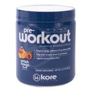 Kore Pre-Workout Peach Mango -- 10.1 oz