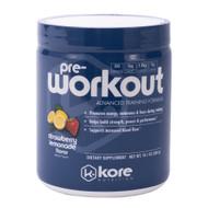 Kore Pre-Workout Strawberry Lemonade -- 10.1 oz