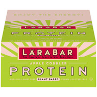 Larabar Plant Protein Bars Apple Cobbler -- 12 Bars