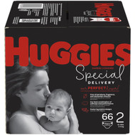 Huggies Special Delivery Baby Diapers Hypoallergenic Size 2 Giga Jr Pack -- 66 Diapers
