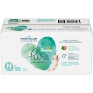 Pampers Pure Protection Diapers Super Pack Size Newborn -- 76 Diapers