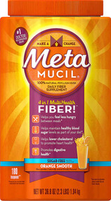 Metamucil 4-in-1 Psyllium Fiber Supplement Orange -- 36.8 oz