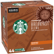 Starbucks Breakfast Blend Medium Roast K-Cups -- 44 K-Cups