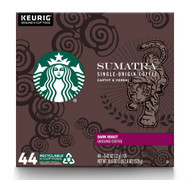 Starbucks Sumatra Dark Roast K-Cups -- 44 K-Cups