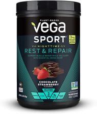 Vega Sport Nighttime Rest & Repair Chocolate Strawberry -- 15 Servings