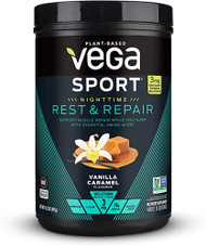 Vega Sport Nighttime Rest & Repair Vanilla Caramel -- 15 Servings