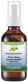 Native Remedies Stress Away Anxiety Relief Oral Spray -- 2 fl oz