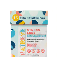 Natreve Stress Less Dietary Supplement Raspberry Lavender -- 2.66 oz