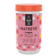 Natreve Vegan Protein Powder Strawberry Shortcake -- 23.8 oz