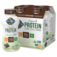 Garden of Life Organic Plant Protein RTD Chocolate -- 11 fl oz Each / Pack of 16