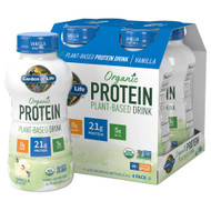 Garden of Life Organic Plant Protein RTD Vanilla -- 11 fl oz Each / Pack of 16