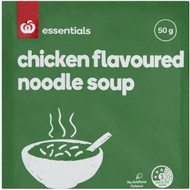 3 PACK OF Essentials Packet Soup Mix Chicken Noodle 50g