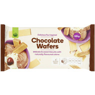 5 PACK of WW Chocolate Creme Wafers 125g