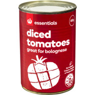 5 PACK of Essentials Diced Tomatoes 400G