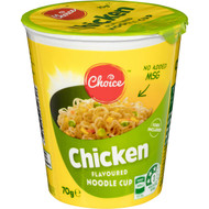 5 PACK of Choice Chicken Noodle Cup 70g