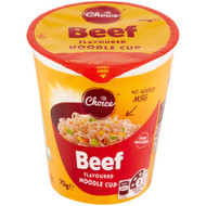5 PACK of Choice Beef Noodle Cup 70g