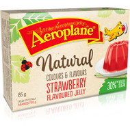 5 PACK of Aeroplane Jelly Reduced Sugar Strawberry 85g