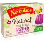 5 PACK of Aeroplane Jelly Reduced Sugar Raspberry 85g