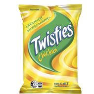 5 PACK of Twisties Chicken Snacks 90g