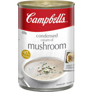 5 PACK of Campbell's Canned Soup Cream Of Mushroom 420g