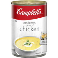 5 PACK of Campbell's Canned Soup Cream Of Chicken 420g