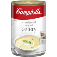 5 PACK of Campbell's Canned Soup Cream Of Celery 410g